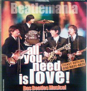 Beatlesdoubles im Estrel