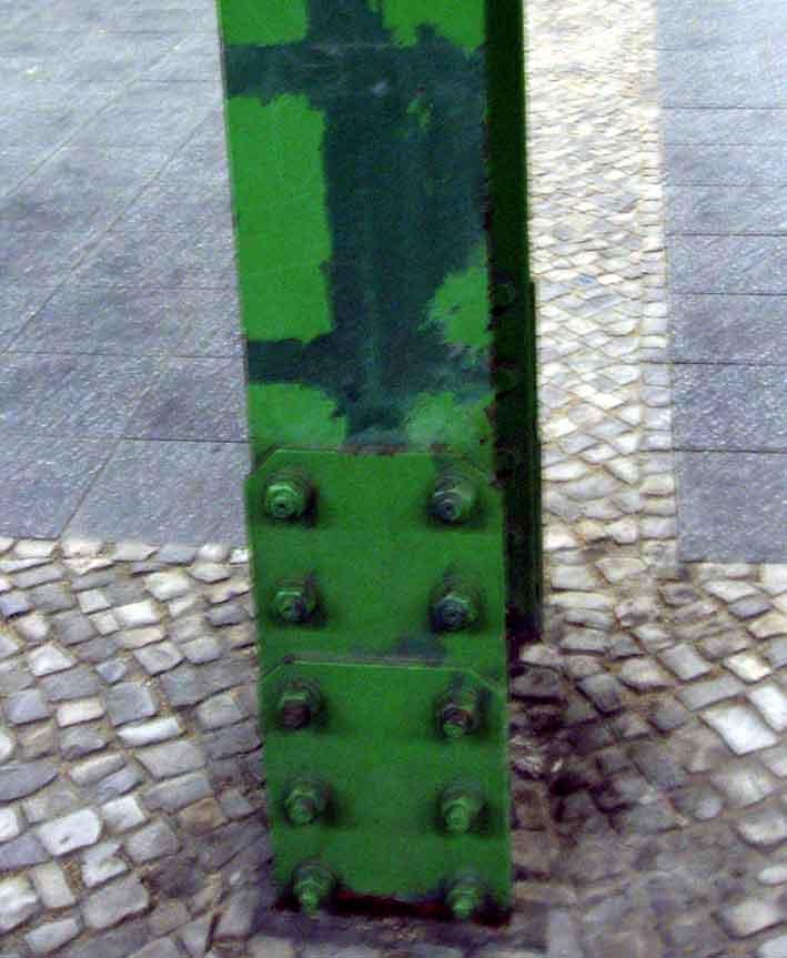 Grüner Pfeiler