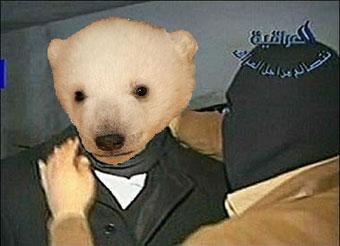 Knut vor der Hinrichtung