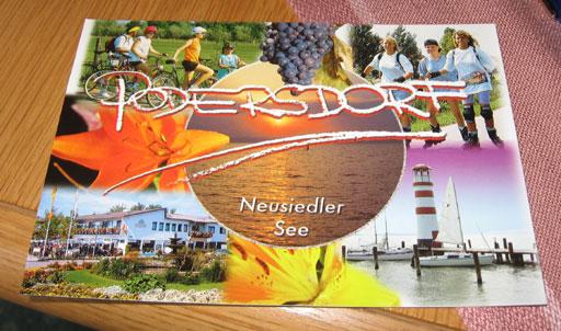 Postkarte aus Podersdorf